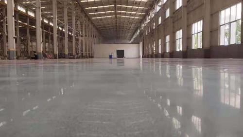 [大型车间案例]——倾力打造广州洁净车间固化地坪项目