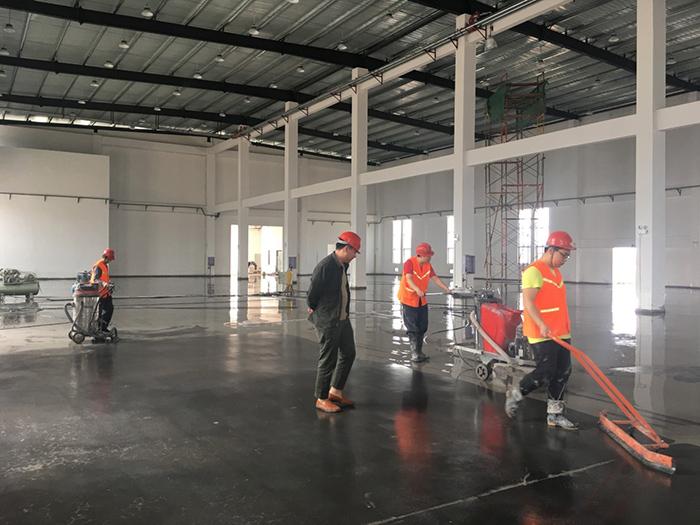 生产车间装甲地坪
