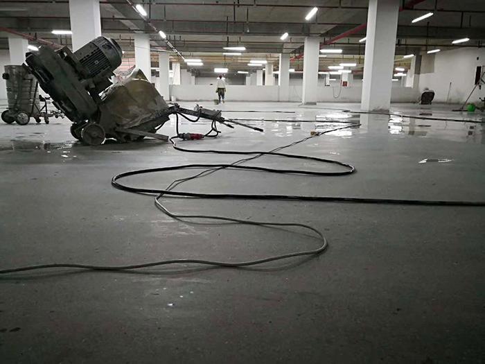 地下车库装甲地坪