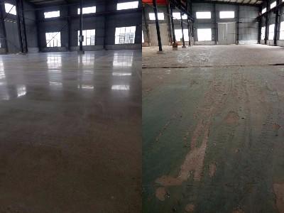 金刚砂固化地坪施工