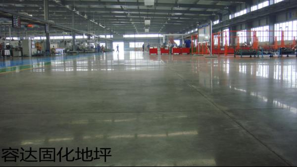 工厂车间地面对固化地坪如此青睐的理由